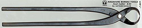 (0040)Masakuni bonsai tool Root Cutter for SATSUKI AZALEA. Item : Root Cutter for SATSUKI AZALEA Length :300mm Weight :410g.