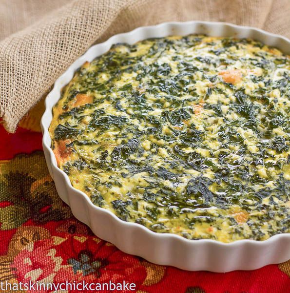 This spinach souffle |  6 eggs, beaten ¼ cup butter, cubed 24 ounces ricotta cheese 2 10 ounce packages frozen, chopped spinach, thawed and squeezed dry 2 tablespoons flour 1 teaspoon salt 1/2 c. parmesan