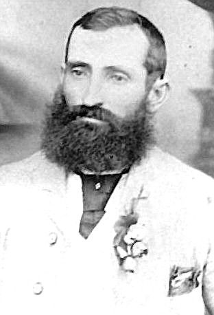 Captain Thunderbolt on his wedding day to Mary Ann Bugg