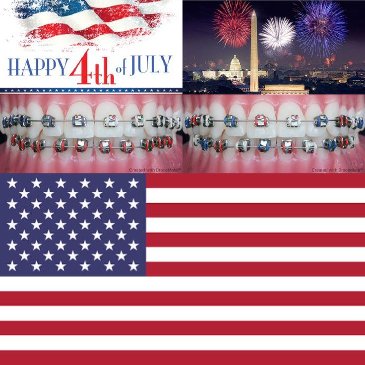 Happy 4th of July!   #4thofjuly #fourthofjuly #independenceday #unitedstates #unitedstatesofamerica #usa #america #fourthofjulyweekend #fireworks #starsandstripes #redwhiteandblue #usa🇺🇸 #merica #merica🇺🇸 #braces #orthodontics #orthodontist #dental #dentist #dentistry #color #colors #app #design #washington #washingtondc