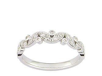 alliance or blanc 750ml et diamants
