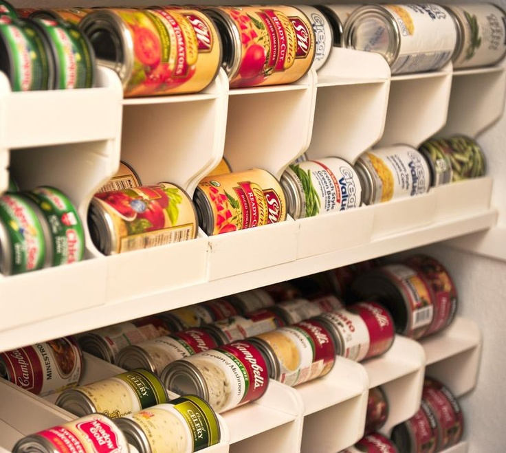 Canned Food Storage Pantry And Design On Pinterest: 25+ Best Ideas About Walk In Pantry On Pinterest
