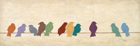 Fuglemøte Plakater av Patricia Quintero-Pinto hos AllPosters.no
