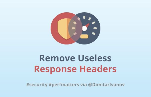 Learn how to remove an HTTP response header across various platforms. Understand how the useless headers can hurt app security, performance, and SEO.