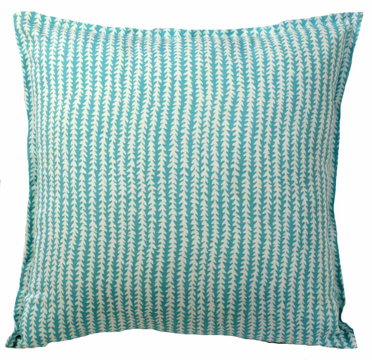Square 42cm x 42cm  A bold decorative pattern that is perfectly on trend sets this beautiful accent pillow apart and makes it the perfect way to liven up any chair or sofa. This cushion is made from indoor/outdoor fabric that is mould, mildew, stain and water resistant. It is perfect for outdoor settings and indoors in sunny rooms. It is fade resistant up to 500 hours of direct sun exposure. Dimensions 42 cm x 42 cm • Finished with mock French seam • Cushion made in Queensland • Fabric…