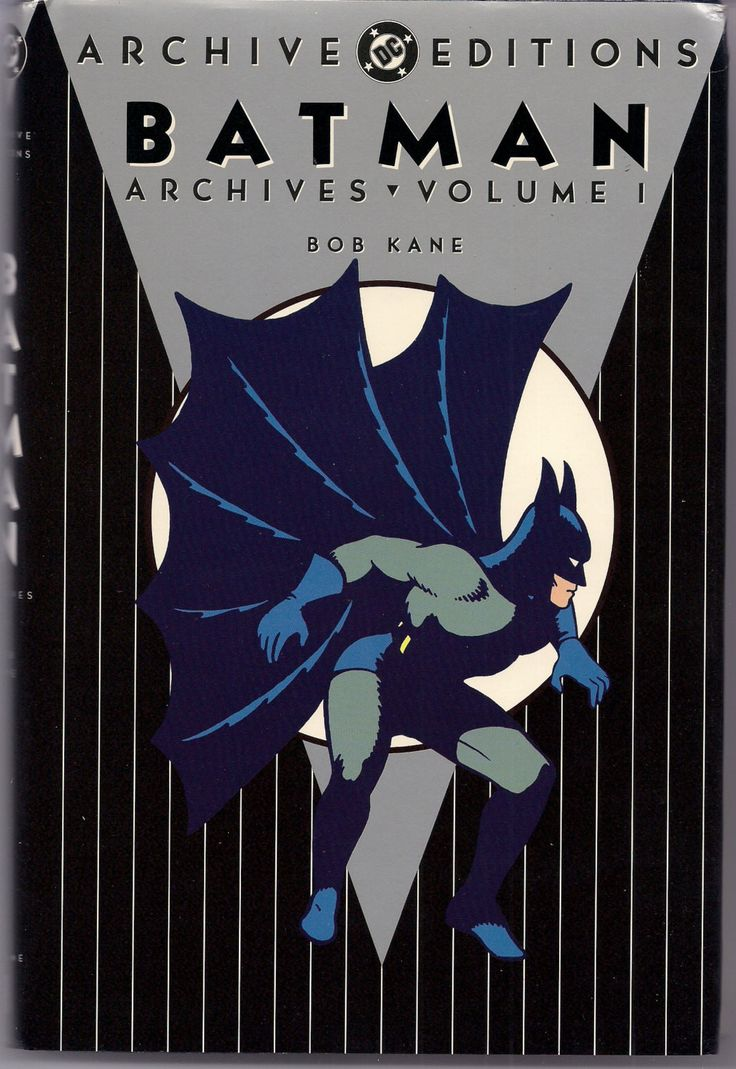 Batman the Dark Knight DETECTIVE COMICS Gotham City DC Archive Editions #1 1st Printing Bob Kane Reprinting issues 27-50