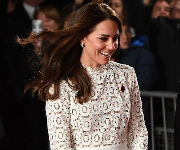 femail article duchess cambridge meet street named film premiere