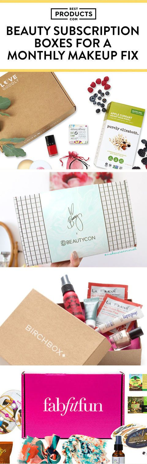 Don't forget to pin these monthly beauty subscription boxes (they have rave reviews!)
