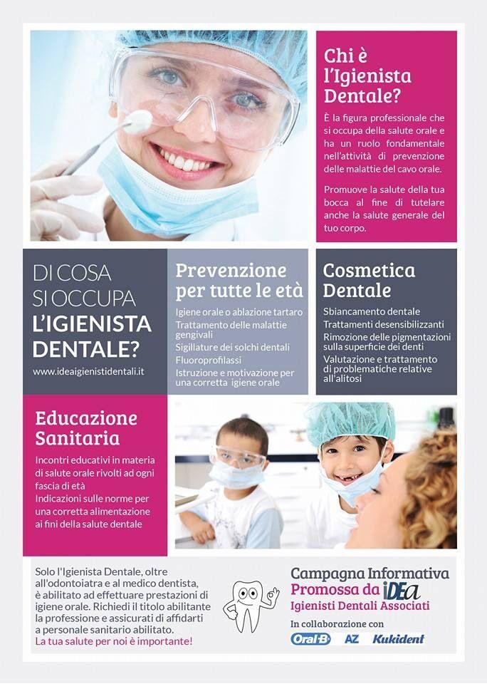 Campagna informativa sulla figura dell'Igienista Dentale