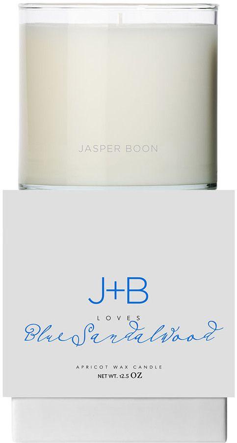 Bluewick Home Fragrance J+B Loves Blue Sandalwood Candle (12.5 OZ)
