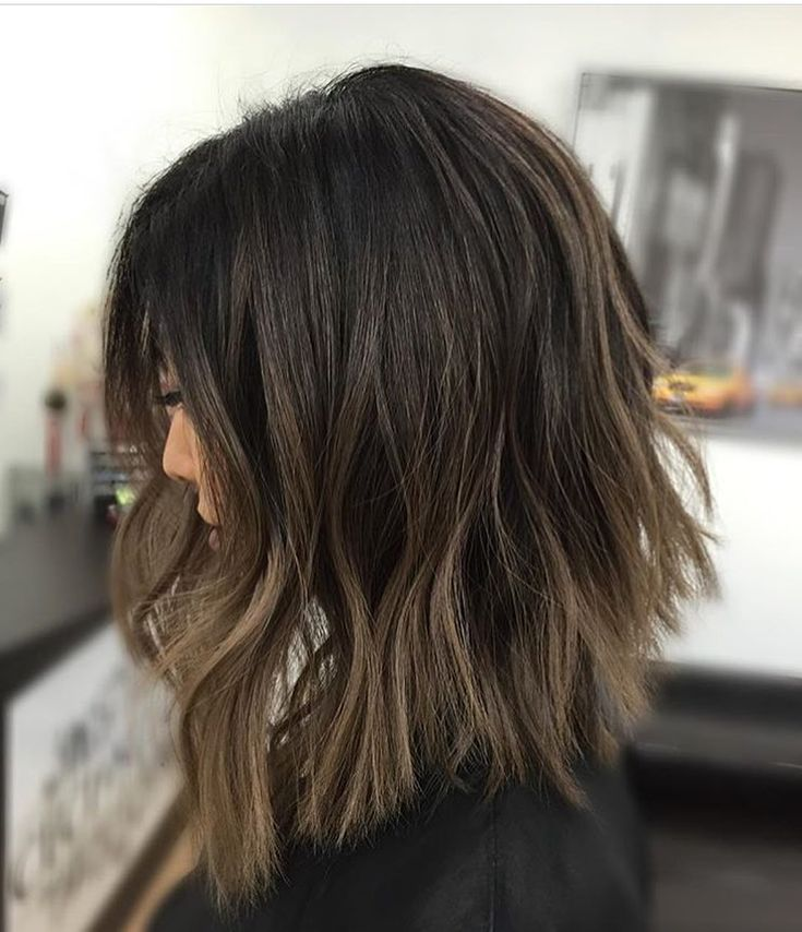 Ash brunette lob. Color by @kycolor  #hair #hairenvy #hairstyles #haircolor…