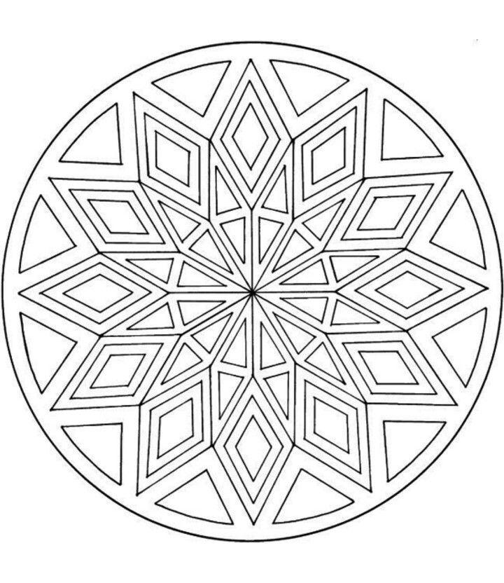 Art therapy | Mandala coloring pages, Mandala coloring ...