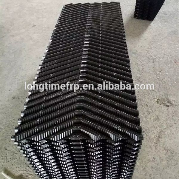 2018 Hot Sale Pvc Water Cooling Tower Fill 19mm Sheets Distance