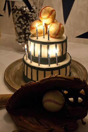 {Real Parties} Vintage Baseball Birthday Party « Belleza e Luce