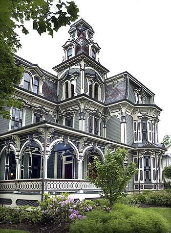 Montgomery Mansion, Claysville, PA - Built in 1879-1880 by Robert Porter, an owner of the local lumber yard.