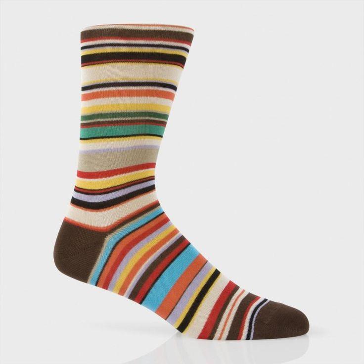 Paul Smith Men's Socks | Classic Signature Stripe Socks - Paul Smith UK