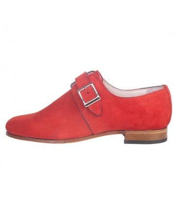 O'QUIREY LADY LONDON - SUEDE RED