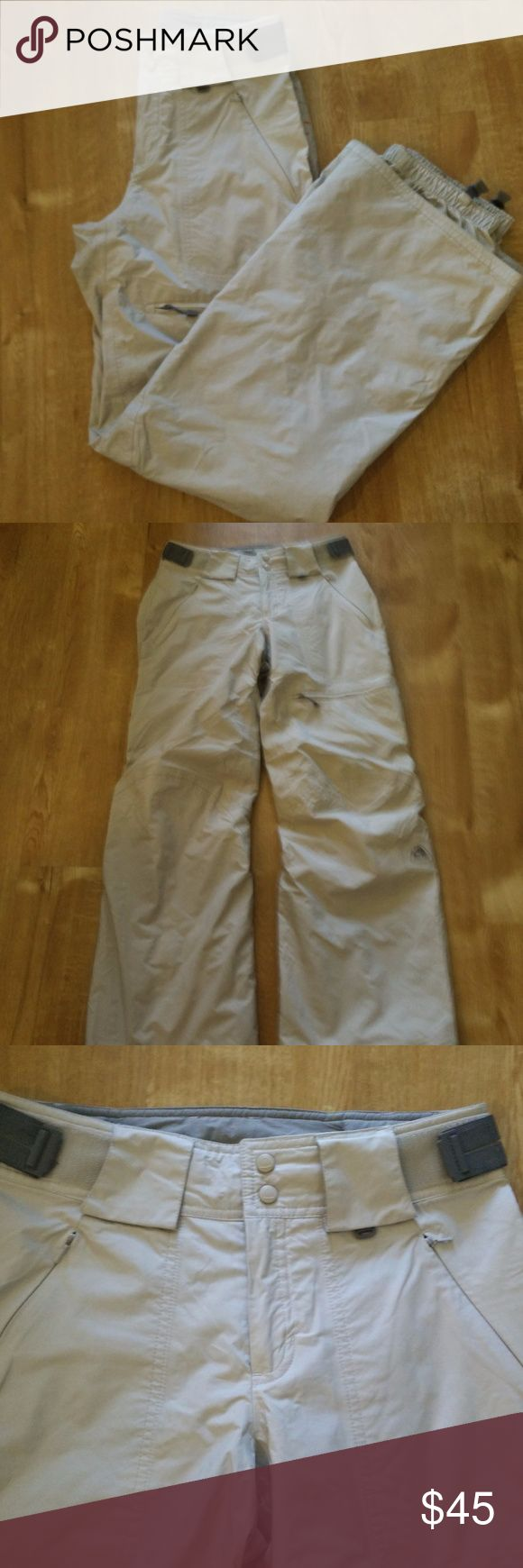 "Nike ACG Snow Pants Nike ACG Snow Pants Women's 3 Outer Layer Khaki Winter Ski Snowboarding Size XS (0-2) - Really Nice Ski Pants in EXCELLENT condition with no flaws observed!  (Ref#1906)  Please see measurements for good fit     Measurements:  (With Pants Laying Flat – Actual Measurements are taken to the best of our ability and are approximate)     Waist  - 27""  Inseam - 31""  Rise - 9.25"" Nike Pants"