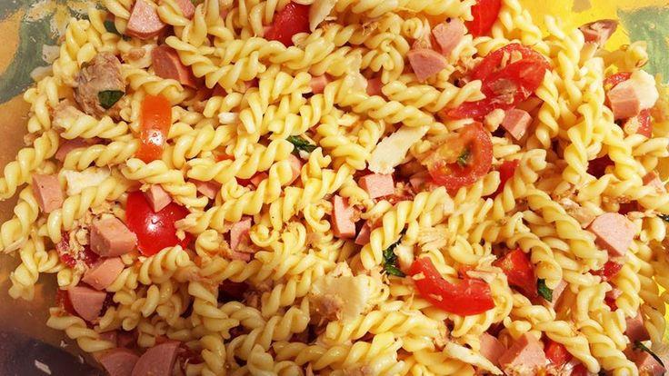 """""""Pasta al sole"""". #cucina Ricetta su => http://www.cucinareconsapienza.altervista.org/pasta-al-sole/"""