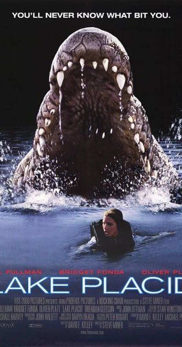 "Directed by Steve Miner.  With Bridget Fonda, Bill Pullman, Oliver Platt, Brendan Gleeson. Three people attempt to stop a gigantic crocodile, who is terrorizing residents in Black Lake, Maine. FUNNIEST ""How Did This Get Made"" PodCast, BAR NONE.  Everyone needs to listen!"