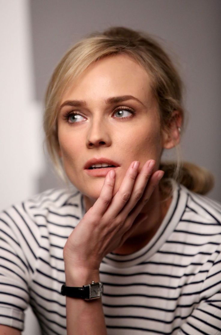 dailyactress:  Diane Kruger at Variety Studio in West Hollywood