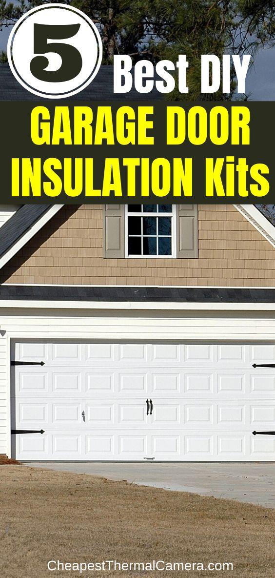 Garage Door Insulation DIY Ideas energyefficiency in 2020