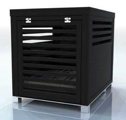 Modern Wood Dog Crate