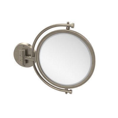 Allied Brass Universal Extendable Mirror Magnification: 2x, Finish: Antique Pewter