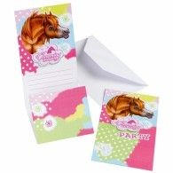 Party Time Celebrations  - Charming Horses Party Invitations, $5.95 (http://www.partytimecelebrations.com.au/charming-horses-party-invitations/)