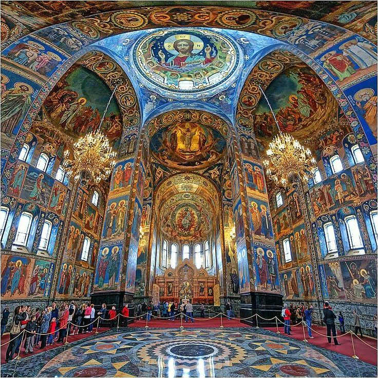 Architecture - Places of Worship - Edifices Religieux - Russian Orthodox Church in Saint-Petersburg, Russia
