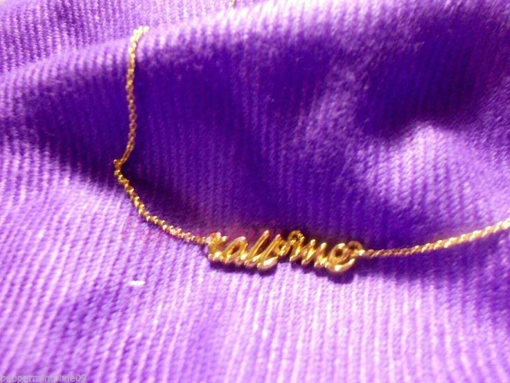 """kate spade call me in cursive script necklace WBRU5933 new ship'g now!  #katespade #PendantNecklace  Whether you're known to be the life of the party  (your friends are always asking for your party playlist,  cocktail recipes and confirmed attendance  at their get-togethers)  or have a heart for all things...   this  gold-plated necklace is especially for you  say yes """"call me"""" necklace  WBRU5933"""