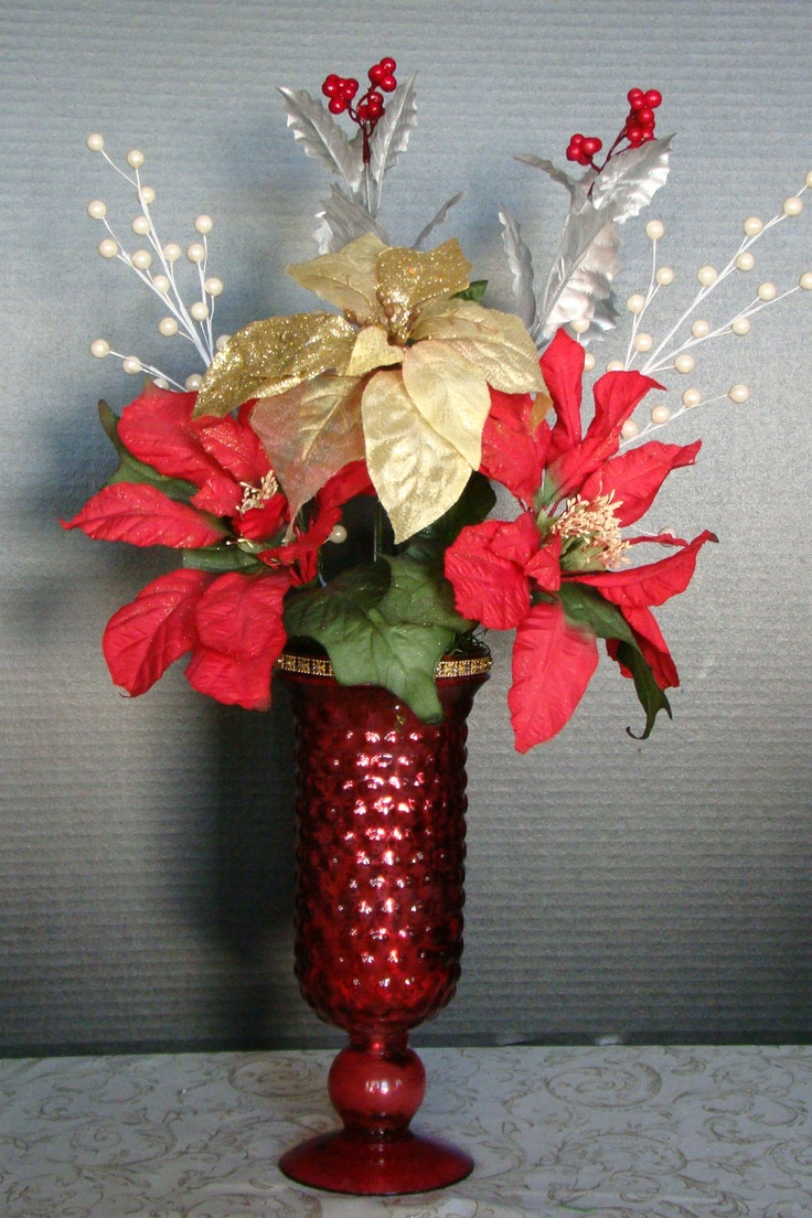 Best images about christmas floral arrangements on