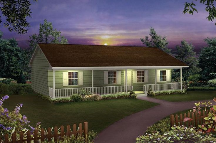 House plan 5633 00018 ranch plan 1 285 square feet 3 bedrooms 2 bathrooms square feet - House plans for four bed room houses ...