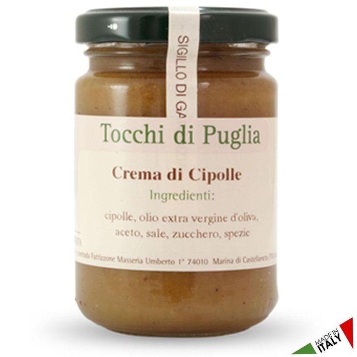 CREMA DI CIPOLLE GR 140 TOCCHI DI PUGLIA  (070906)