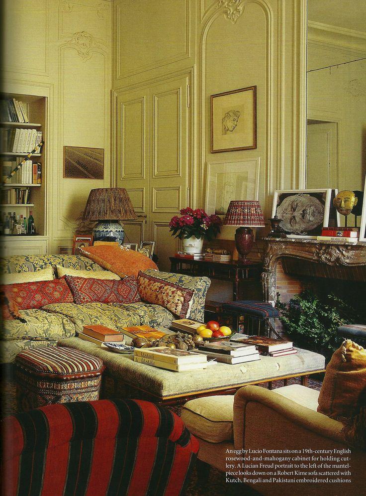 Love love love jennifer shorto 39 s paris apartment - Decorador de casas ...