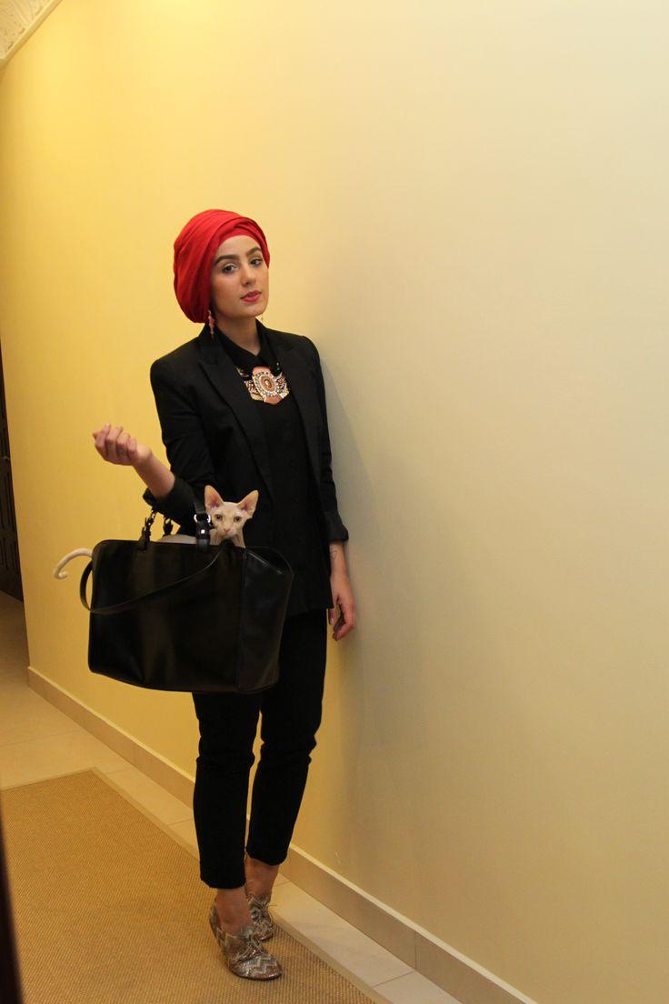 Ascia Akf love the #turban #hijab #hijabi #hijabista #fashion #style