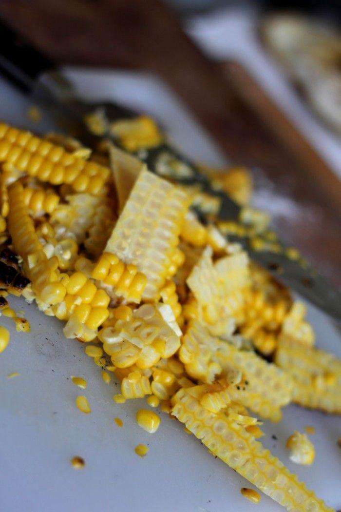 Grillede majskolber og majssauce