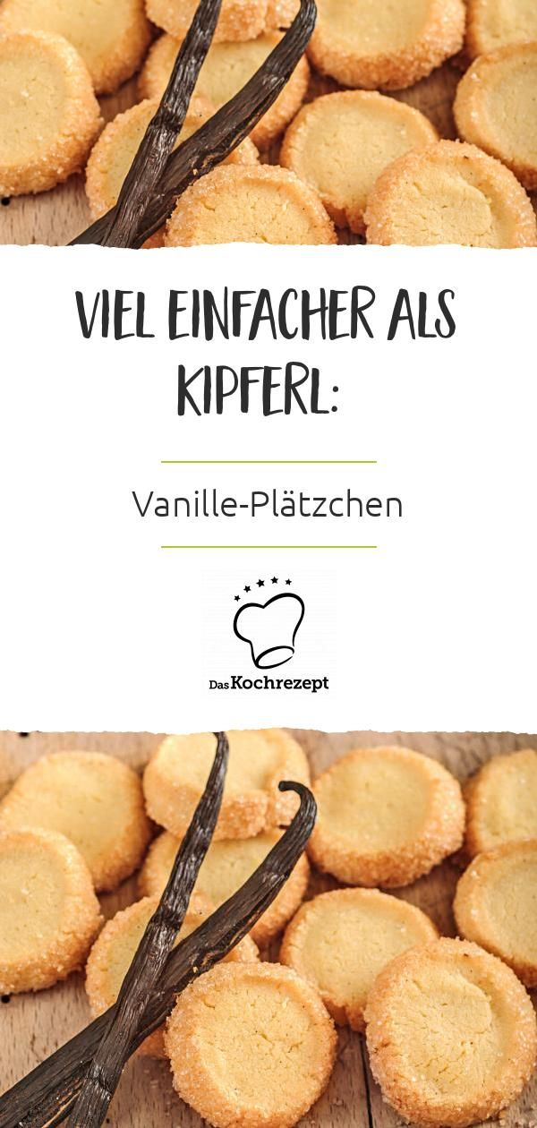 These cookies not only taste delicious with vanilla, they are also delicious.   – Weihnachtsbäckerei-Favoriten