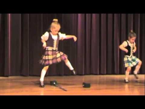 Primary Highland Dancers: Sword Dance