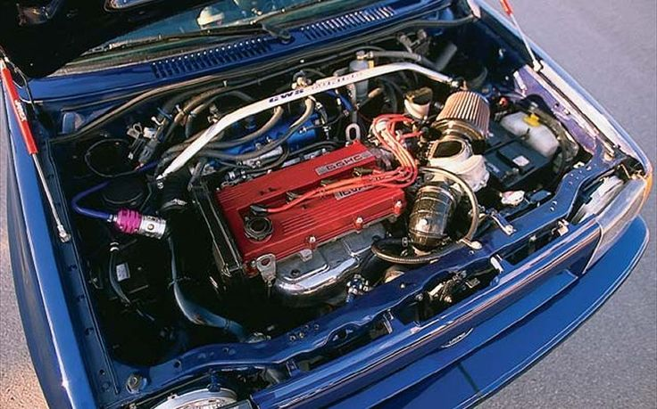 Ford Festiva engine #4