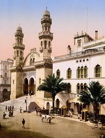 Cathedral Saint-Philippe Cathedral Saint-Philippe (built 1612) — in Algiers (1899). Photographed during the period when it was converted into the French colonial Cathedral Saint-Philippe d'Alger (1845-1962).