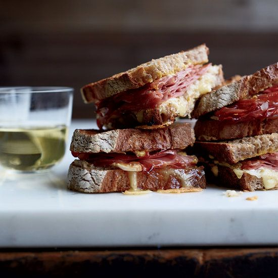 Mortadella Reubens with Lemon Aioli   Food & Wine