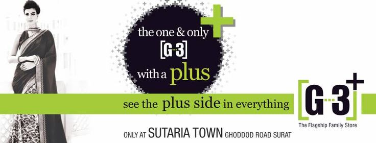 Surat See the Plus Side in Everything with G3