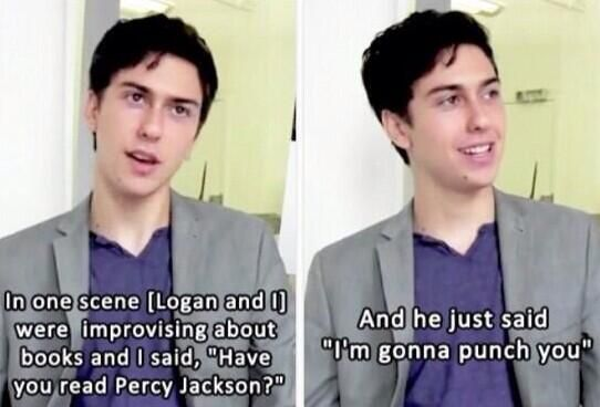 NAT WOLFF AND LOGAN LERMAN I SHIP IT AS MUCH AS I SHIP THEM WITH MYSELF