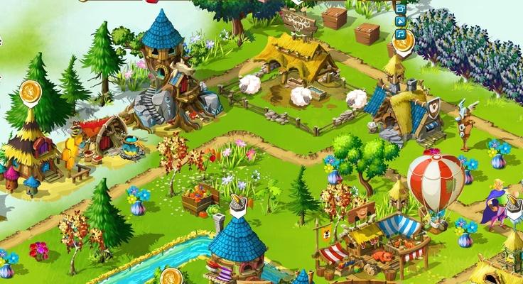 """Mamy drugie zgłoszenie na akcję """"Osada Października"""". Na zdjęciu widać wioskę Beaty z NK. http://fwo.fansite.xaa.pl/viewtopic.php?p=51#p51 #wesołaosada"""