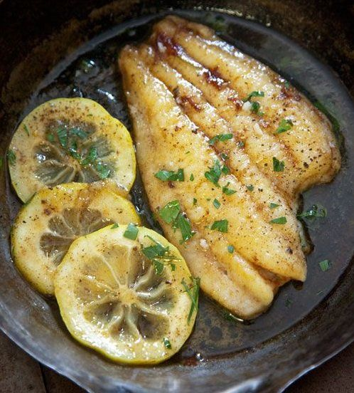 Sole with lemon and chive sauce for Lemon fish sauce recipe