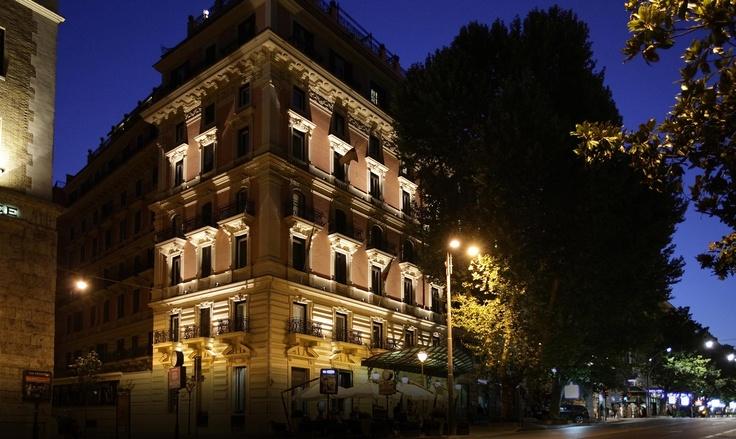 Roman Penthouse Suite  Baglioni Hotels Regina Hotel  #rome #italy #5star