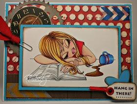 "Redonkadoodles.com - ""Up All Night"" Digital Stamp - Handmade Card Design By: justwordz.ca"