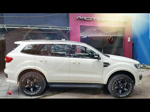 This Customised Ford Endeavour Is A Mean Looking SUV - Drivespark