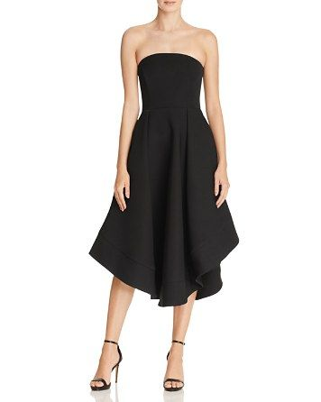 C/MEO Collective Making Waves Strapless Midi Dress - 100% Bloomingdale's Exclusive